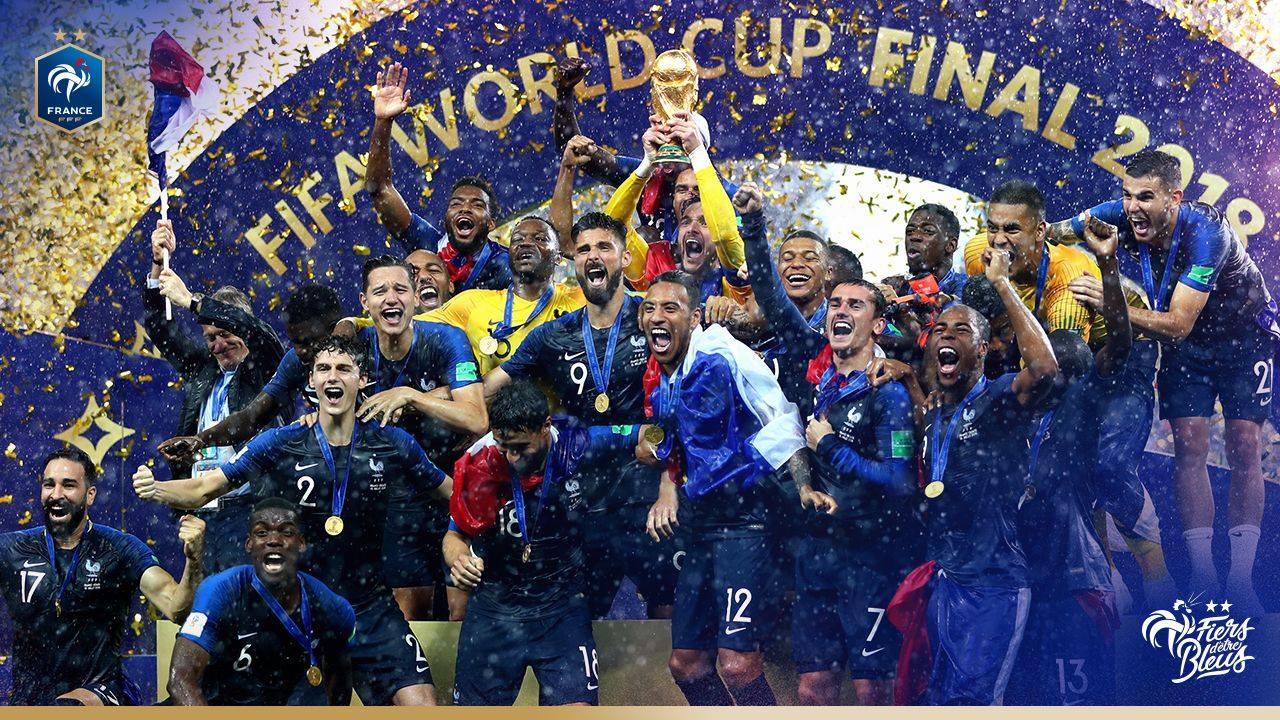 Victoire de l quipe de france en coupe du monde r gion r union - Coupe de france l equipe ...