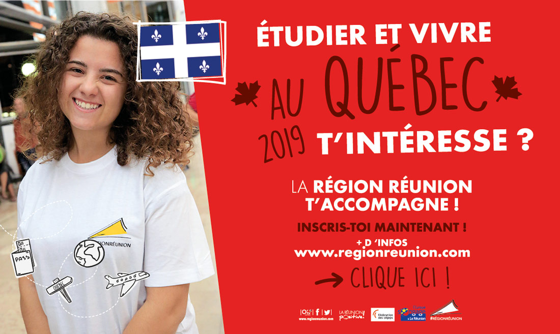 Etudier Et Vivre Au Quebec T Interesse Region Reunion